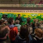 Eröffnungsfeier des KunstprojektsTunnelblick