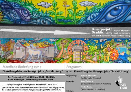 """Martin Blumöhr – Einweihungsfeier """"Stadtlichtung"""""""