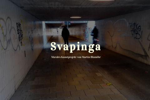 """Martin Blumöhr – Murales Kunstprojekt """"Svapinga"""""""