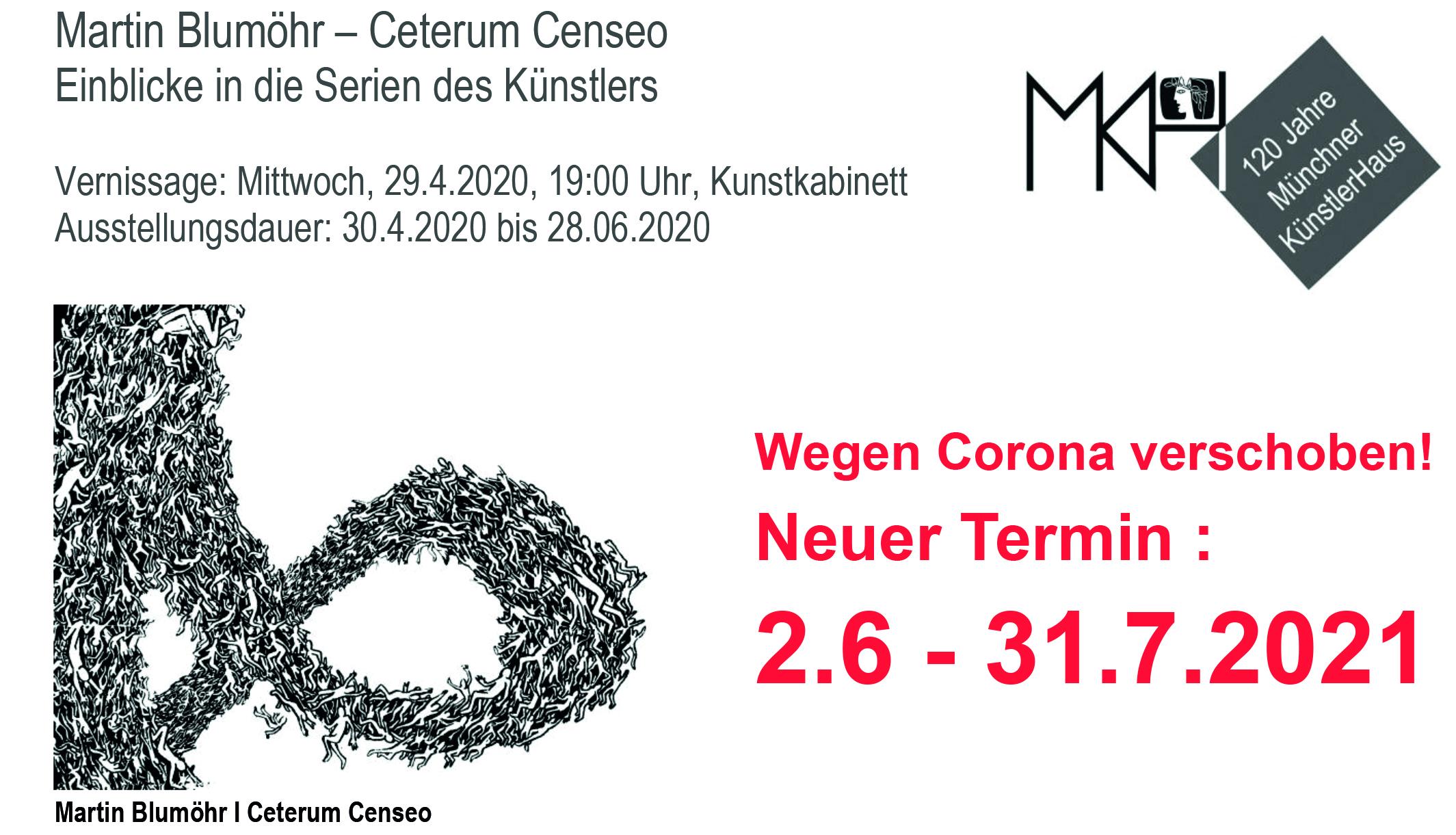 Martin Blumöhr – Ceterum Censeo